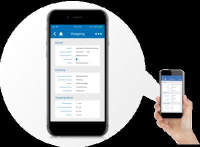 CareCM app mobil